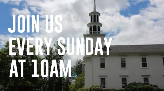 Join Us for Worship at 10am